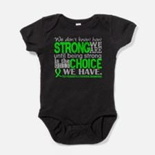 NH Lymphoma HowStrongWeAre Baby Bodysuit