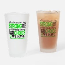 NH Lymphoma HowStrongWeAre Drinking Glass
