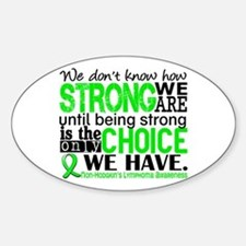 NH Lymphoma HowStrongWeAre Decal