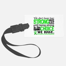 NH Lymphoma HowStrongWeAre Luggage Tag