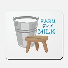 Farm Fresh Milk Mousepad