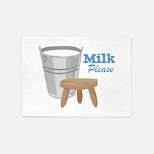 Milk Please 5'x7'Area Rug