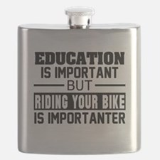 Funny Bike Flask