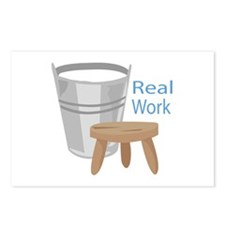 Real Work Postcards (Package of 8)