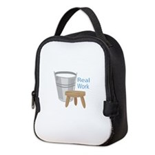 Real Work Neoprene Lunch Bag