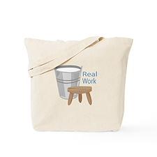Real Work Tote Bag