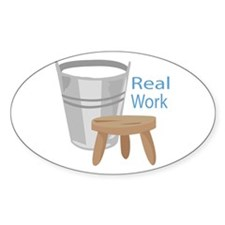 Real Work Decal