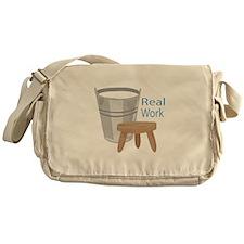 Real Work Messenger Bag