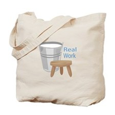 Real Work Tote Bag
