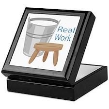 Real Work Keepsake Box