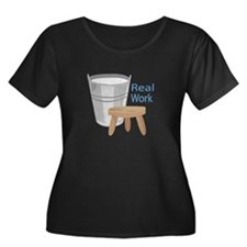 Real Work Plus Size T-Shirt