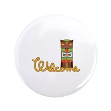 """Welcome 3.5"""" Button (100 pack)"""