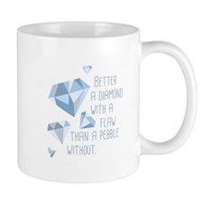 Flawed Diamonds Mugs