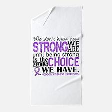 Hodgkin's Disease HowStrongWeAre Beach Towel