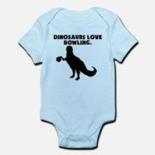 Dinosaurs Love Bowling Body Suit