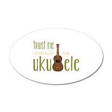Play The Ukuele Wall Decal