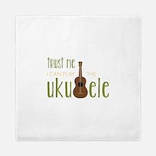 Play The Ukuele Queen Duvet