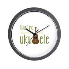 Play The Ukuele Wall Clock