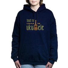 Play The Ukuele Women's Hooded Sweatshirt