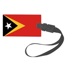 Timor-Leste Flag Luggage Tag