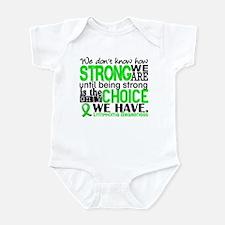 Lymphoma HowStrongWeAre Infant Bodysuit
