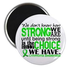 Lymphoma HowStrongWeAre Magnet
