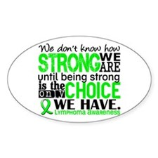 Lymphoma HowStrongWeAre Decal