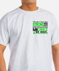 Lymphoma HowStrongWeAre T-Shirt
