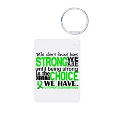 Lymphoma HowStrongWeAre Keychains