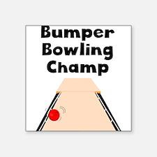 Bumper Bowling Champ Sticker