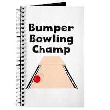 Bumper Bowling Champ Journal