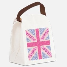 English Rose Canvas Lunch Bag