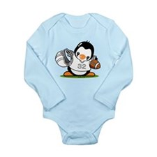 Football Penguin Long Sleeve Infant Body Suit