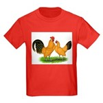 BT Buff Dutch Bantams Kids Dark T-Shirt