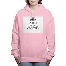 Keep calm I'm the Au Pai Women's Hooded Sweatshirt
