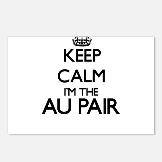 Keep calm I'm the Au Pair Postcards (Package of 8)