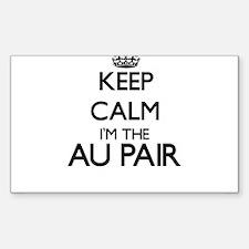 Keep calm I'm the Au Pair Decal