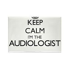 Keep calm I'm the Audiologist Magnets