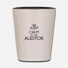 Keep calm I'm the Auditor Shot Glass