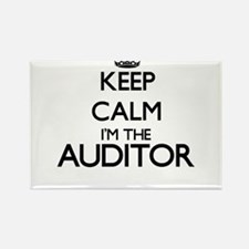 Keep calm I'm the Auditor Magnets