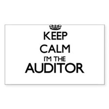 Keep calm I'm the Auditor Decal