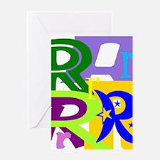 Initial Design (R) Greeting Cards