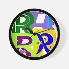 Initial Design (R) Wall Clock