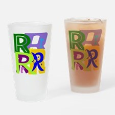 Initial Design (R) Drinking Glass