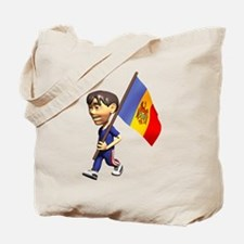3D Moldova Tote Bag