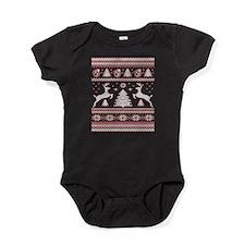 Unique Ugly christmas Baby Bodysuit