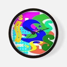 Initial Design (S) Wall Clock