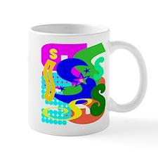 Initial Design (S) Mugs