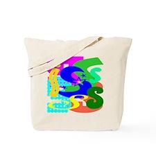 Initial Design (S) Tote Bag