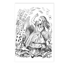 Alice and Cards Postcards (Package of 8)